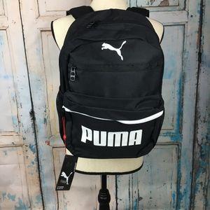 1ea891523ded Puma Meridian Backpack black white  B27-32